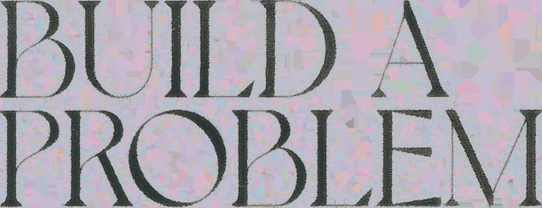 Dodie Build A Problem title logo